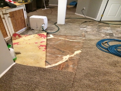 water damage cleanup erie